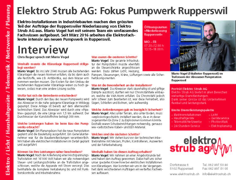 Pumpwerk Rupperswil