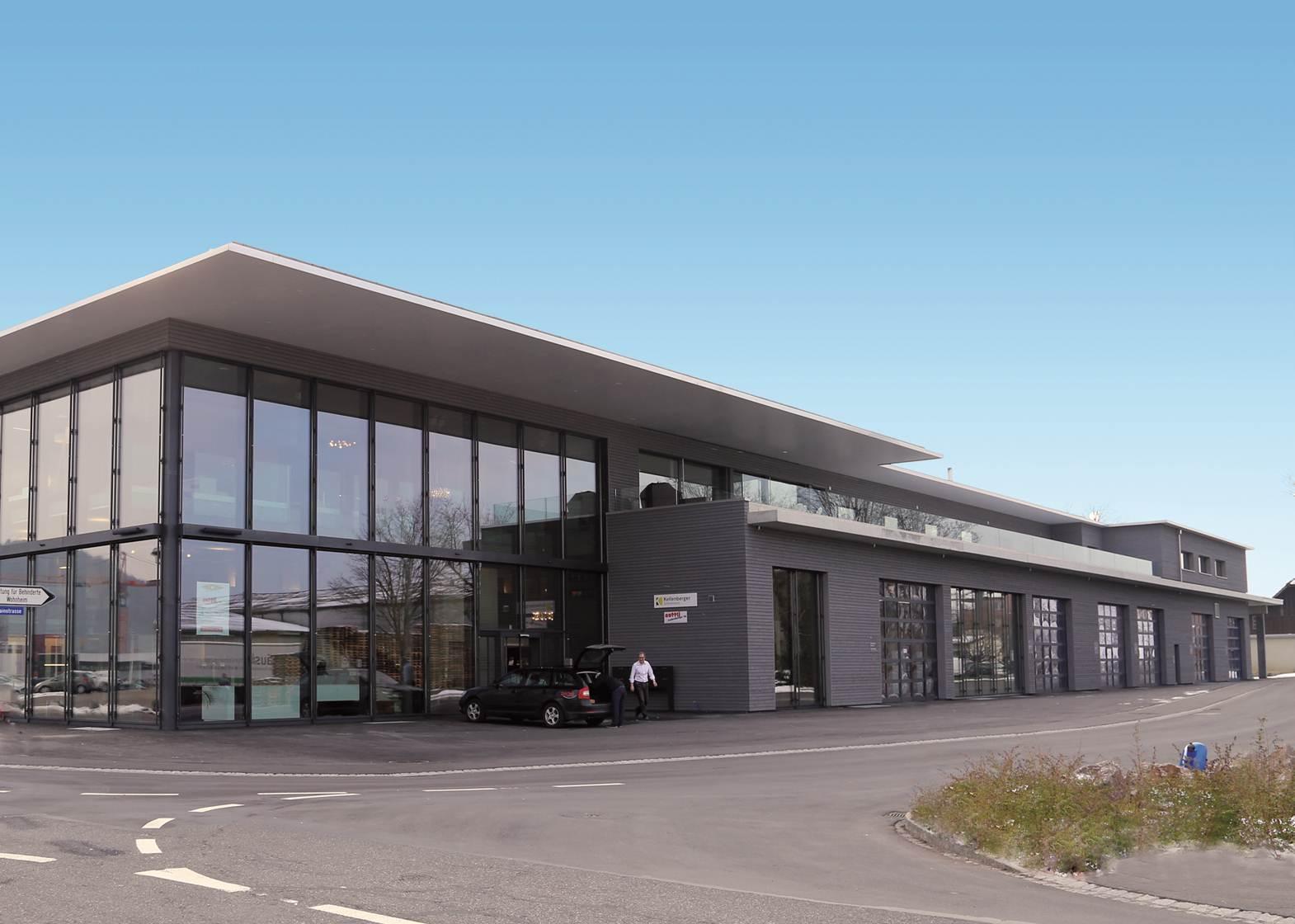 Neuer Mieter im Baukompetenz-Zentrum Oberentfelden